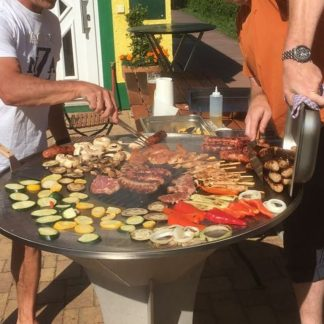 Standgrill Gastro in Aktion